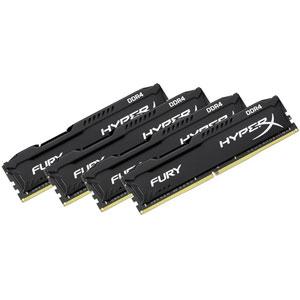 photo HyperX FURY Black 64Go 2666MHz DDR4 CL16