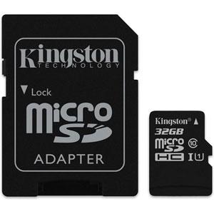 photo Canvas Select microSD UHS-I - 32Go + Adaptateur SD