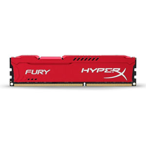 photo HyperX FURY Red 16Go 2933MHz DDR4 CL17