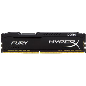 photo FURY Black 16Go 3200MHz DDR4 CL18