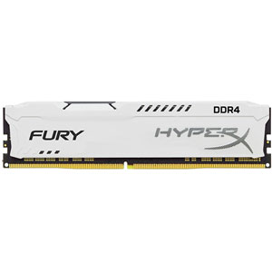 photo FURY White 16Go 3200MHz DDR4 CL18