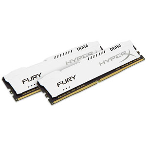 photo FURY White 32Go (2x16Go) 3466MHz DDR4 CL19