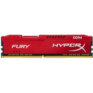 photo FURY Red 16Go 3200MHz DDR4 CL18
