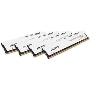 photo FURY White 32Go (4x8Go) 2933MHz DDR4 CL17