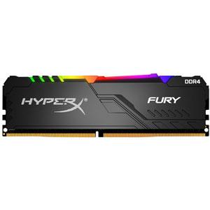 photo Fury RGB DIMM DDR4 2666MHz CL16 - 32Go (2x16Go)