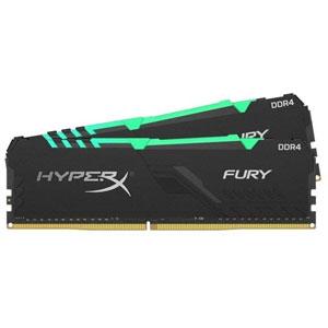 photo Fury RGB DIMM DDR4 3000MHz CL16 - 32Go (2x16Go)