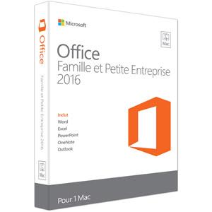 photo Office Famille et Petite Entreprise 2016 pour Mac