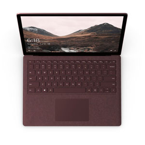 Surface Laptop - i7 / 8Go / 256Go / W10 Pro/ Rouge