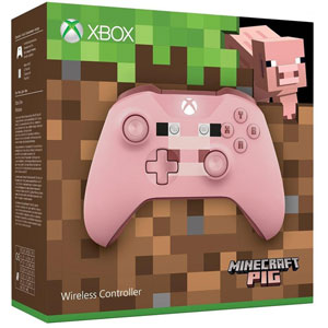 Manette Xbox One Sans Fil Minecraft Pig
