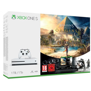 Xbox One S 1To Assassin's Creed Origins+Rainbow 6