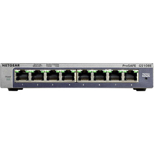 Switches ProSAFE® Plus Gigabit - GS108E
