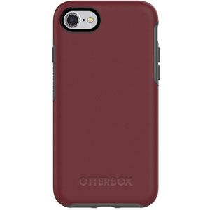 SYMMETRY pour iPhone 7/8 - Bordeaux/Gris