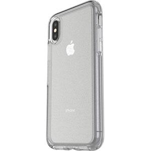Symmetry pour iPhone X - Transparent Pailleté