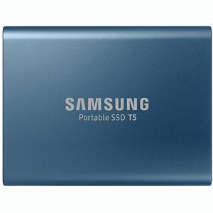 SSD Portable T5 - 250Go / Bleu