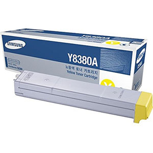 photo CLX-Y8380A - Toner jaune/ 15000 pages