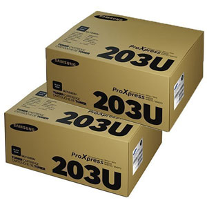 photo MLT-P203U - Pack de 2 toners noir/ 15000 pages