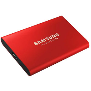 SSD T5 - 500Go / Rouge