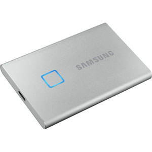 Portable SSD T7 Touch - 1 To / Argent
