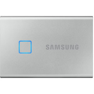 Portable SSD T7 Touch - 2 To / Argent