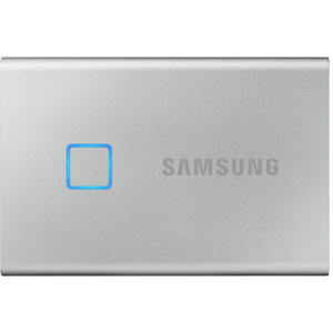 photo Portable SSD T7 Touch - 500 Go / Argent