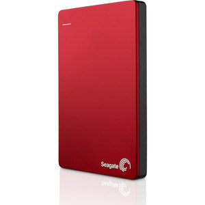 Disque portable Backup Plus Slim 1To Rouge