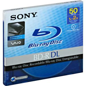 photo 1 x BD-R DL 50 Go