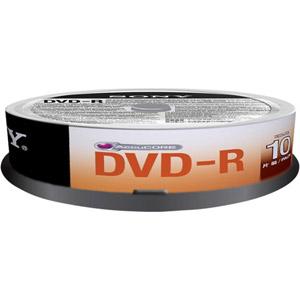photo Pack de 10 DVD-R 4.7 Go