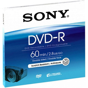 photo DVD-R 8cm 2.8 Go