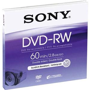 photo DVD-RW 8cm 8.8 Go