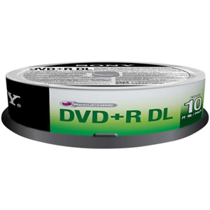 photo Pack de 10 DVD+R DL 120 mm 8.50 Go