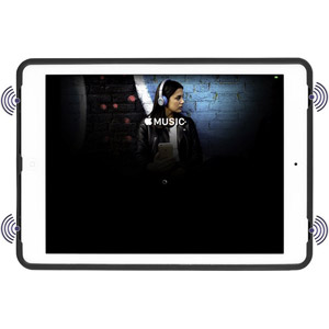 EverVu rotatif  9.7  iPad Pro, Air, Air 2 - Rouge