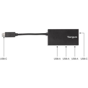 USB-C Hub to 3 x USB-A & 1x USB-C
