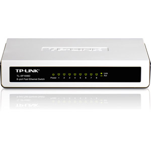 TL-SF1008D Switch Fast Ethernet 8 Ports