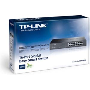 Switch Gigabit Ethernet 16 Ports TL-SG1016DE