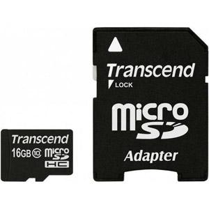 photo Micro SDHC 16 Go Class 10 + Adaptateur SD
