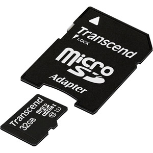 Micro SDHC 32 Go Class 10 + Adaptateur SD