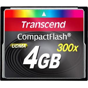 photo CompactFlash 300x 4 Go