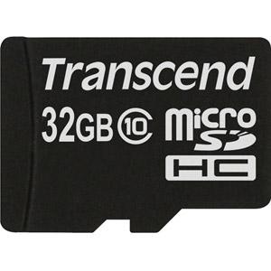 photo microSDHC Classe 10 (Premium) 32Go