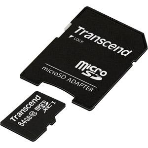 photo microSDHC Classe 10 (Premium) 64Go