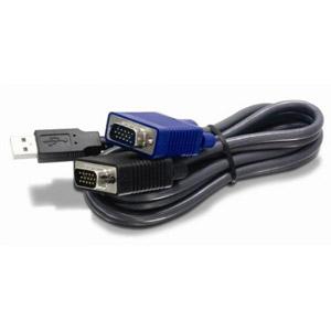 photo Câble KVM USB/VGA 3,10m