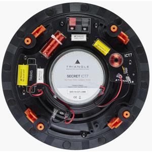 Secret ICT7 - Enceinte Encastrable Circulaire 140W