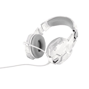 photo GXT 322W Gaming Headset - Blanc camouflage