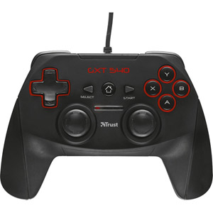 GXT 540 Wired Gamepad - PC/PS3