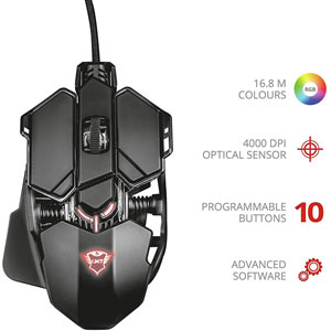 GXT 138 X-Ray Illuminated Gaming Mouse