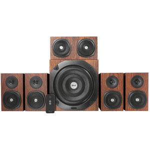 Vigor 5.1 Surround Speaker System - Marron
