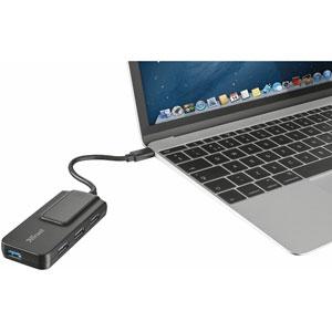 Oila USB-C 4 Port USB 3.1 Gen.1 Hub