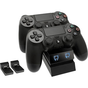 photo Twin Docking Station PS4 - Noir