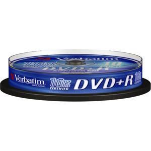 photo Pack de 10 DVD+R Datalifeplus  4,7 Go
