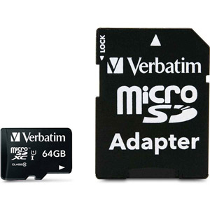 photo Micro SDXC 64 Go Class10 - Adaptateur SD