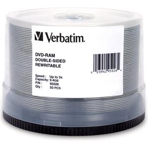 photo Pack de 50 DVD-RAM 9.4 Go